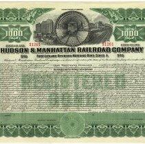 Image of bond certificate, enhanced