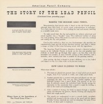 Image of pg 52: The Story of the Lead Pencil - how pencils are made