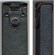 Image of front and side view of case