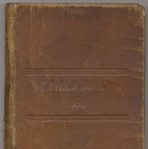 Image of Book: K&E Field Engineer's Book 361. Made by Keuffel & Esser Co., N.Y. Used in 1906 for railroad survey work. - Book