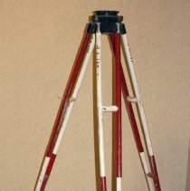 Image of Wide frame fixed leg tripod, 5191-8, made by Keuffel & Esser Co., n.d., ca. 1945-1965. - Tripod