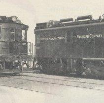 Image of detail illustration of locomotives