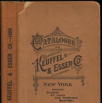 Image of Catalogue of Keuffel & Esser Co., New York; 33rd edition. 1909. - Catalog