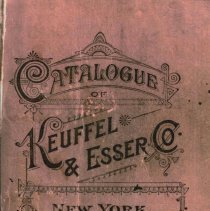 Image of Catalogue of Keuffel & Esser Co., New York; 30th edition. 1900-1901. Facsimile reprint, 2008. - Catalog