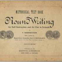 Image of Methodical Text Book to Round Writing for Self-Instruction and for Use in Schools. - Book