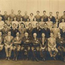Image of Sepia-tone photo: Fiftieth Anniversary, Carl M. Bernegau, 1890-1940, Keuffel & Esser Co. (Hoboken, N.J.) - Print, Photographic