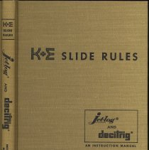 Image of K&E Slide Rules: A Self Instruction Manual. [For Jetlog & Decitrig.] - Book