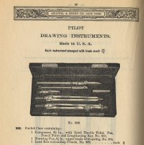 Image of pg 96 36th edition catalog 1921 plus detail of trademark