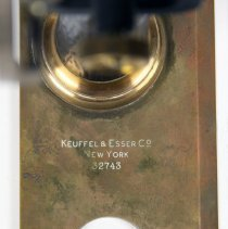 Image of detail maker's mark and serial number