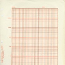 Image of Paper: K&E semi-logarithmic graph sheet 46 6463. 7 cycles x 60 divisions. Made & sold by Keuffel & Esser Co., [Hoboken], n.d, ca. 1956-1966. - Paper