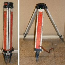 Image of Tripod, plane table; wide leg, adjustable, product no. unavailable, made by Keuffel & Esser Co., N.Y. & Hoboken, n.d., ca.1960-1975. - Tripod