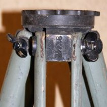 Image of top detail; flange with mount size markings