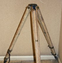Image of Tripod, extension leg, no model number; made by Keuffel & Esser Co., N.Y. & Hoboken, n.d., ca.1930s-1940s. - Tripod