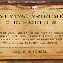 Image of detail Mitchell label