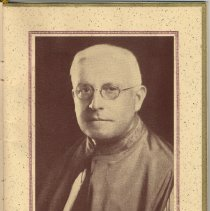 Image of pg [1] printed photo of Monsignor Eugene P. Carroll
