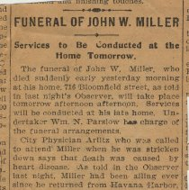 Image of clipping 2: funeral notice