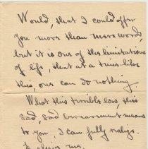 Image of letter 2, pg 2: A.C. Marion Campbell, Hoboken, April 15, 1919