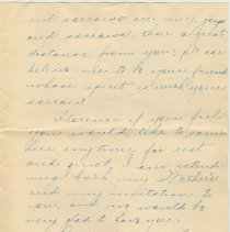 Image of letter 3, page 2 of 3: Martin Henley, Mt. Carmel, Ill, April 22, 1919