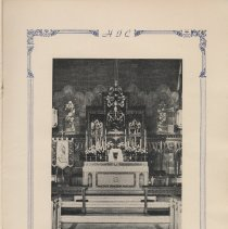 Image of pg [17] photo: High Altar [church interior]