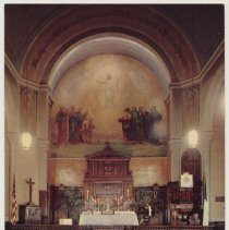 Image of Postcard: St. Matthew's Evangelical Lutheran Church, 8th & Hudson St., Hoboken, N.J. 1958. - Postcard