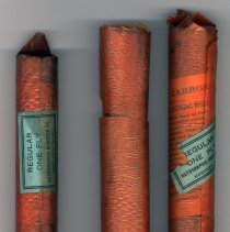 Image of narrow roll and two wide rolls