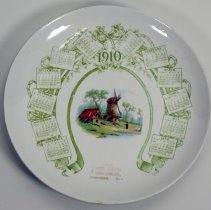 Image of Calendar plate for 1910 issued by The Frank Cordts Furniture Co