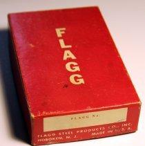 Image of Box: Flagg Steel Products Co., Inc., Hoboken, N.J. No date, circa 1950-1970. - Box