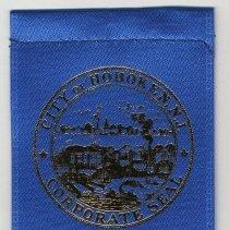 Image of Ribbon badge: Inauguration Mayor Peter Cammarano