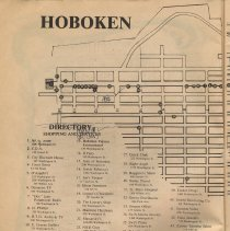 Image of pg 4 Map [left half - uptown]; Directory - Shopping & Services
