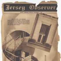 Image of Newspaper insert: Alco-Gravure Div., Publication Corp.; Jersey Observer [Hoboken], special publication, Nov. 7, 1938. - Newspaper