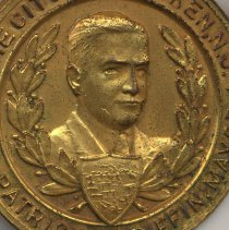 Image of detail Mayor Griffin and shield