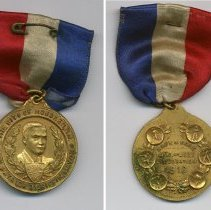 Image of Medal: The City of Hoboken. Patrick R. Griffin, Mayor; both sides