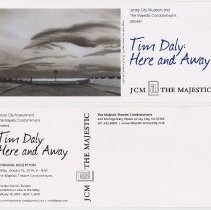 Image of Postcard for art opening: Tim Daly: Here and Away. Jersey City, Jan. 2010. - Postcard