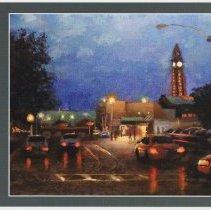 """Image of Postcard: """"Windows of Hoboken: Paintings by Frank Hanavan"""". HHM upper gallery exhibition, 2010. - Postcard"""