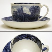 Image of cup and saucer set