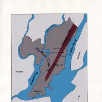 Image of 012 Fig 5 Map of Hudson County showing Bergen Hill