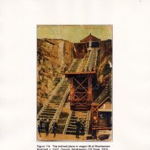 Image of 021 Fig 11b Inclined plane or wagon lift at Weehawken; 1912 postcard