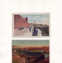 Image of 036 Fig 19 14th St. Viaduct, 2 postcard views ca 1920s