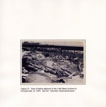 Image of 040 Fig 21 Photo debris adjacent to Viaduct, ca. 1970