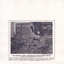 Image of 046 Fig 23 Photo of damage from March 31, 1909 dynamiting of viaduct