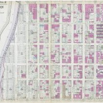 Image of Map: Hoboken, 3rd to 8th Sts., Willow Ave. to Paterson Plank Rd.; Hopkins Atlas of Hudson County, V.2, Plt. 4, 1934. - Map