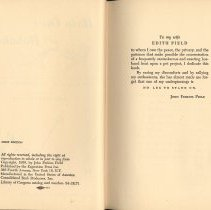 Image of pp [4-5]: verso title; dedication