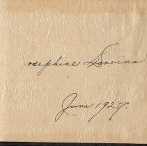 Image of leaf one; owner's inscription