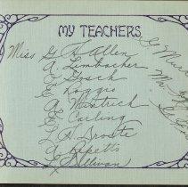 Image of leaf 3: My Teachers