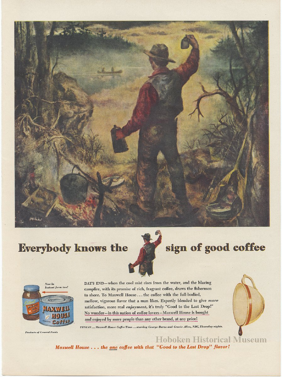 Ads maxwell house coffee 12 full page magazine ads from for Ad house