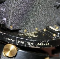 Image of detail right edge with model name and number