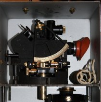 Image of instrument in case