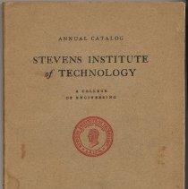 Image of Catalog. Stevens Institute of Technology. Castle Point, Hoboken, N.J., Feb., 1935. - Catalog