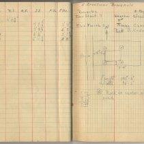 Image of pp 58-59: student field record: E. Creelman, Brookfield