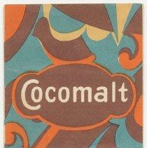 Image of Leaflet: Cocomalt. Made by Davis Baking Powder Co., Hoboken, N.J., copyright 1928. - Brochure